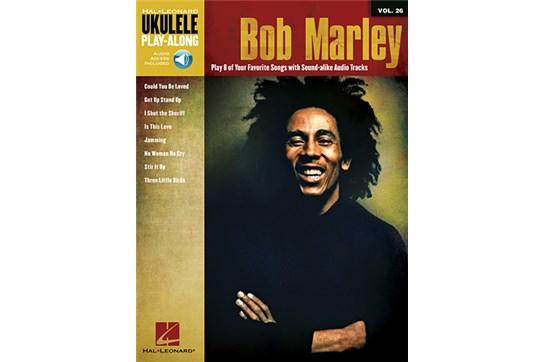 Bob Marley Ukulele Play-Along Volume 26