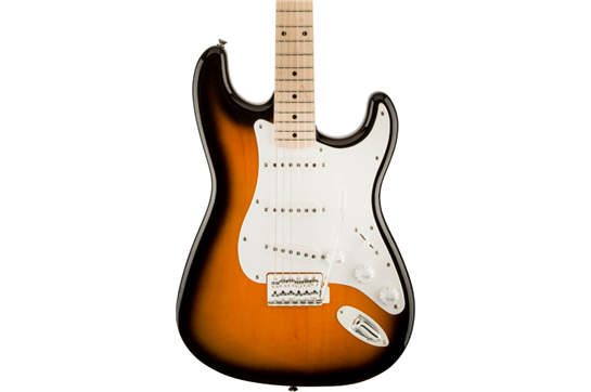 Squier Affinity Stratocaster (Maple Fretboard, 2-Color Sunburst)