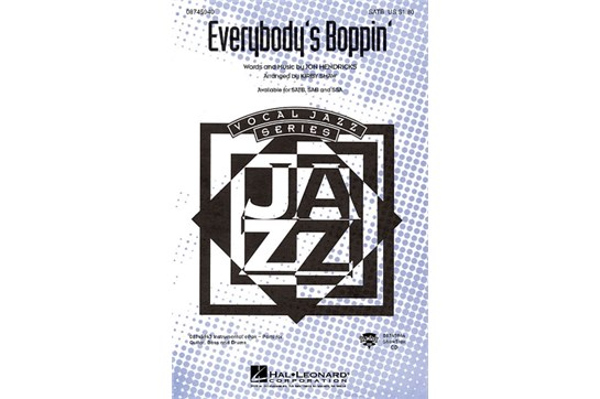 Everybody's Boppin' - SSA