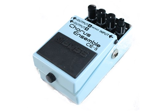 Used Boss CE-5 Chorus Ensemble pedal