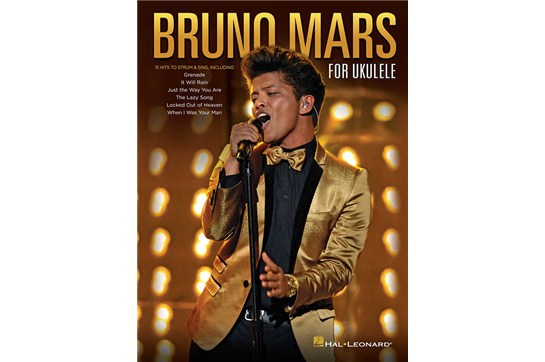 Bruno Mars for Ukulele Music Book