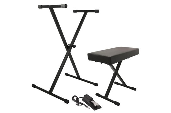 On-Stage Keyboard Bundle (Bench, Stand, Pedal)
