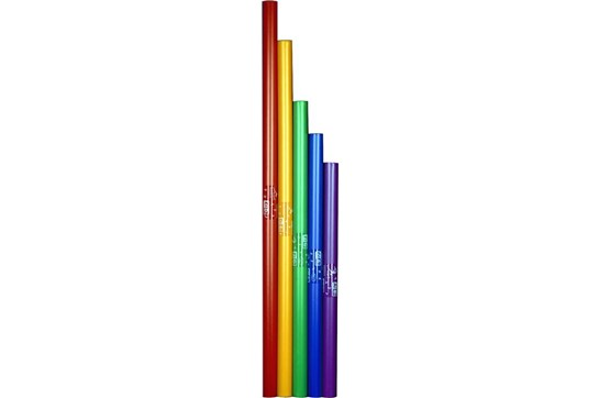 Boomwhackers 5 Note Bass Chromatic Set (Lower Octave) - Tuned Percussion Tubes