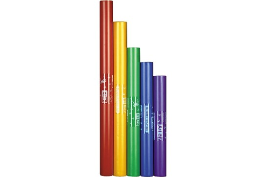 Boomwhackers 5 Note Chromatic Set (Upper Octave) - Tuned Percussion Tubes
