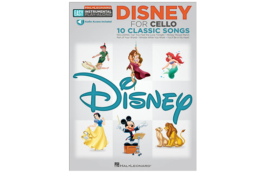 Disney Easy Instrument Play Along (Cello)