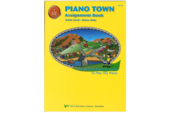 Piano Town Assignment Book