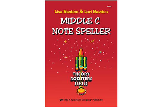 Bastien Theory Boosters: Middle C Note Speller