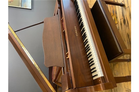 Used 2003 Yamaha C3 Grand Piano- Walnut