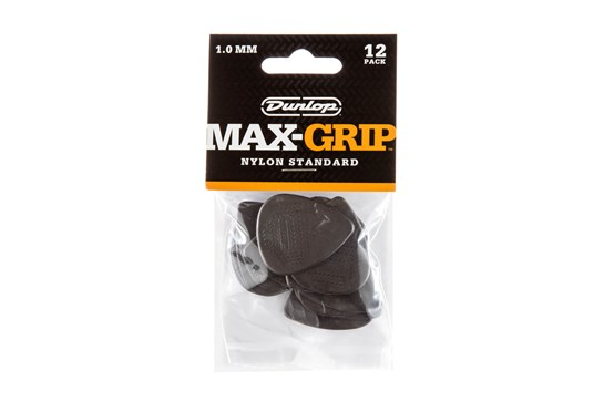 Dunlop Max Grip 1.0 Picks (12 Pack)