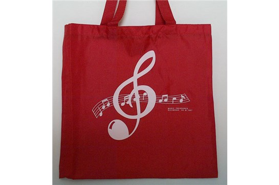 Clef Tote Red