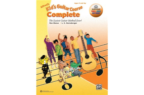 Alfred's Kids Guitar Course Complete w/Audio