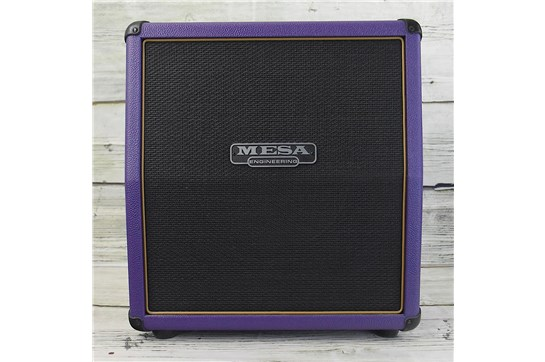 Used Mesa Boogie 1X12 Mini Recto® 19 Slant Cabinet - Purple Bronco / Black Jute Grille