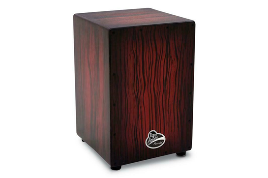 LP Aspire Accent Dark Wood Cajon