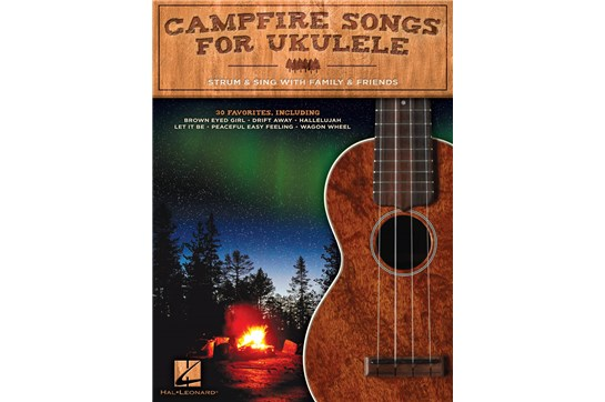 Campfire Songs for Ukulele- Strum & Sing with Family & Friends