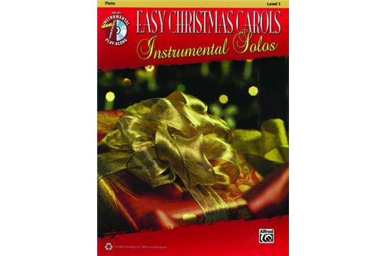 Easy Christmas Carols - Flute: Level 1