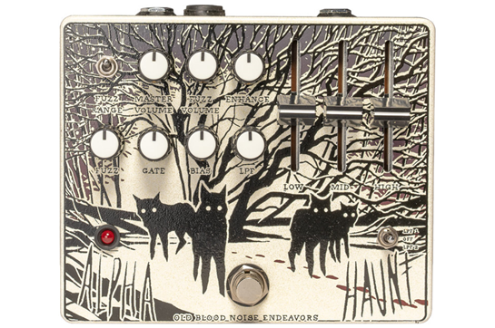 Old Blood Noise Endeavors Alpha Haunt Fuzz Pedal