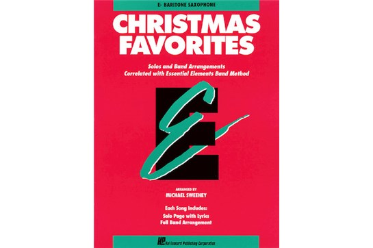 Essential Elements Christmas Favorites (Bari Sax)