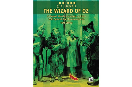 Wizard of Oz - 5 Finger Piano