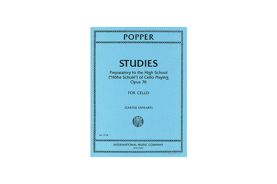 Studies: Preparatory to the High School of Cello Playing Op. 76