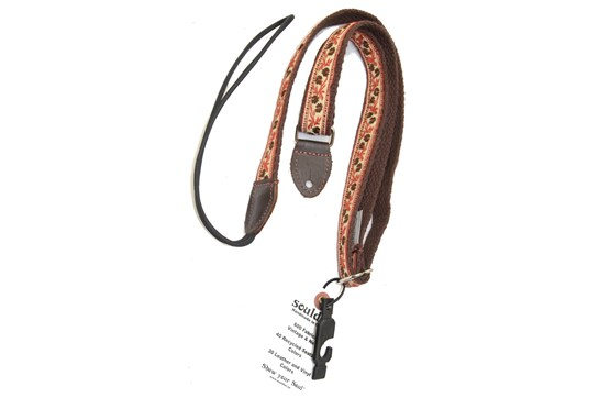 Souldier Petunia Brown Mandolin Strap