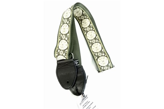 Souldier Medallion Guitar Strap (Green)