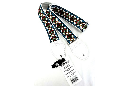 Souldier Stained Glass Guitar Strap