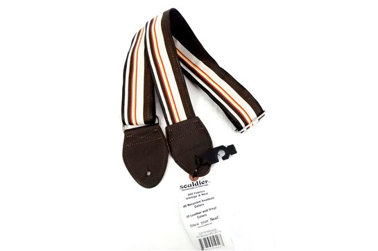 Souldier Barstow Guitar Strap (Brown/Tan)