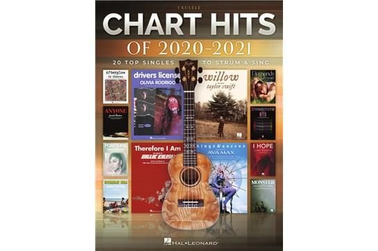 Chart Hits of 2020-2021: Top 20 Singles - Ukulele