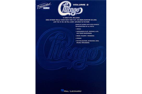 Chicago Transcribed Scores Volume 2