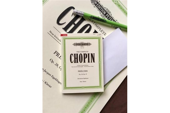 C.F. Peters Sticky Notes (Chopin)