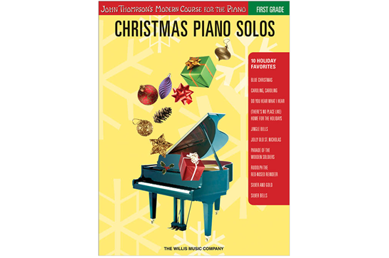 Christmas Piano Solos - First Grade