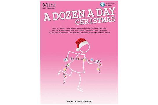 A Dozen a Day Christmas Songbook - Mini