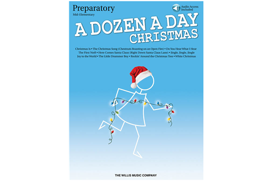A Dozen a Day Christmas Songbook - Preparatory