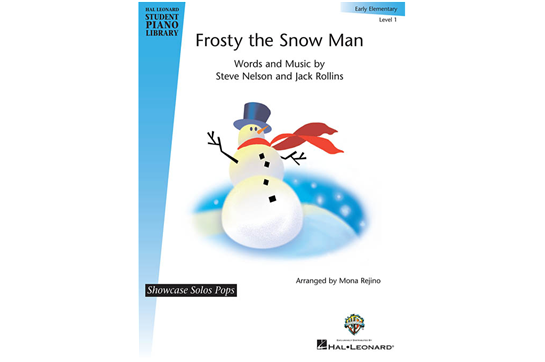Frosty the Snowman Easy Piano