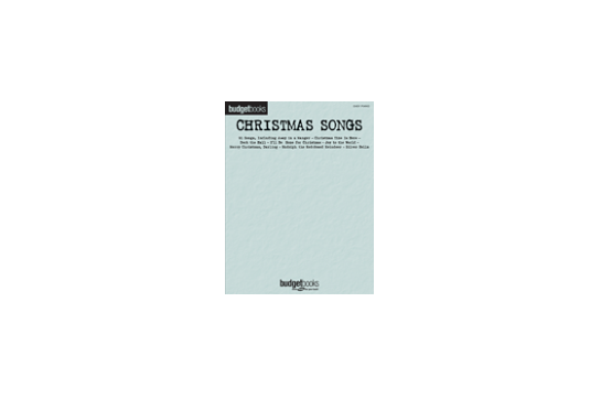 Budget Books - Christmas Songs (Easy Piano)