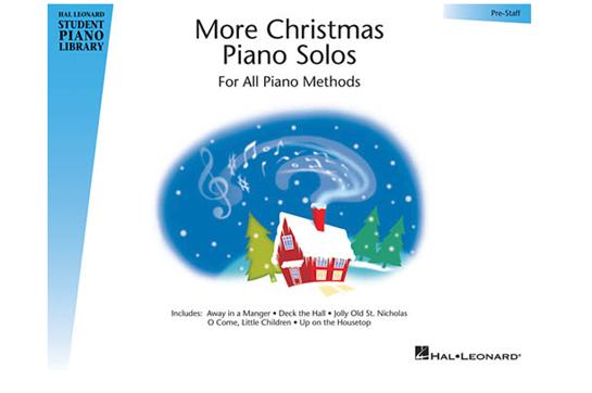 More Christmas Piano Solos - Prestaff Level