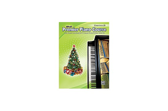 Alfred's Premier Piano Course - Christmas 2B