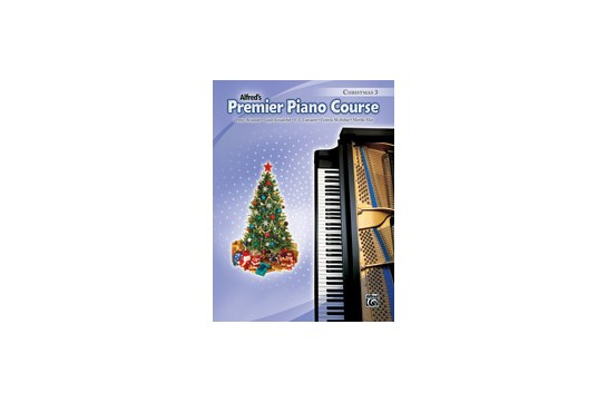 Alfred's Premier Piano Course - Christmas 3