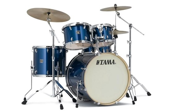Tama Superstar Classic 5-Piece Drum Set (Indigo Sparkle)