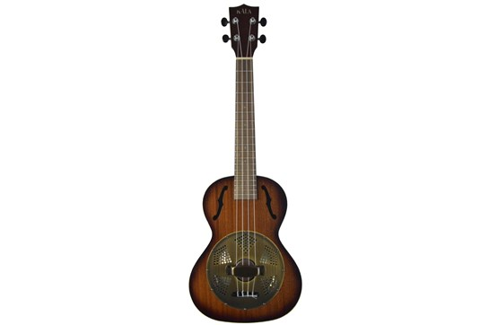 Kala Satin Tenor Uke w/Brass Resonator