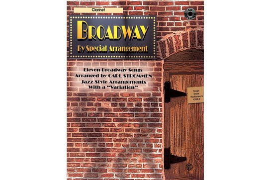 Broadway by Special Arrangement Book and CD (Clarinet)