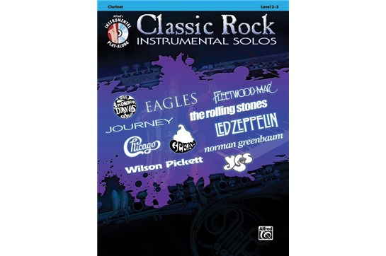 Classic Rock Instrumental Solos for Clarinet