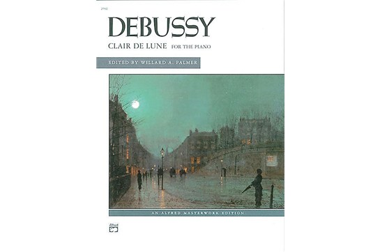 Clair de Lune for the Piano, Debussy (7111AS03)