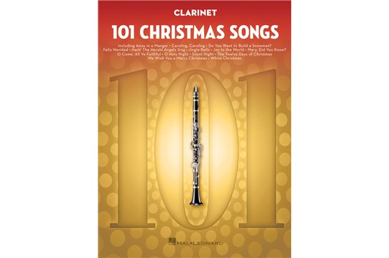 101 Christmas Songs (Clarinet)