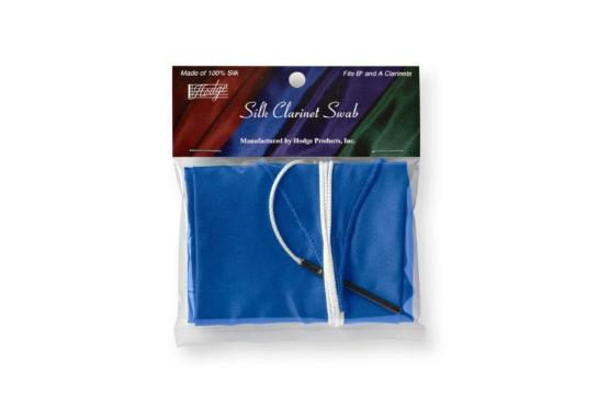 Hodge Clarinet Blue Silk Swab