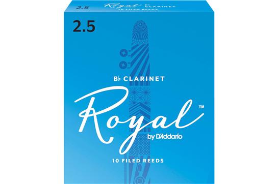 Rico Royal Clarinet 2.5 Reeds 2.5 (Box of 10)