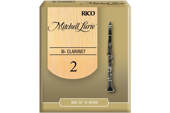 Mitchell Lurie Clarinet Reeds Strength 2 (Box of 10)