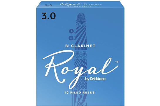 Rico Royal Clarinet Reeds Strength 3 (Box of 10)
