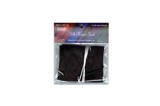 Hodge Clarinet Silk Black Swab