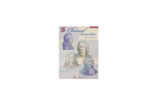 Classical Favorites (2nd Edition, 5 Finger Piano)